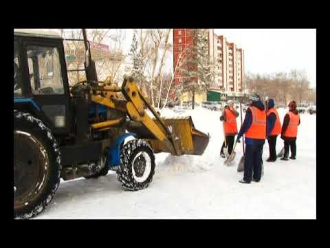В Саяногорске из за погоды ухудшилась дорожная обстановка
