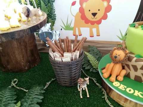 jungle-safari-theme-party-christening-decoration-candy-table-bar