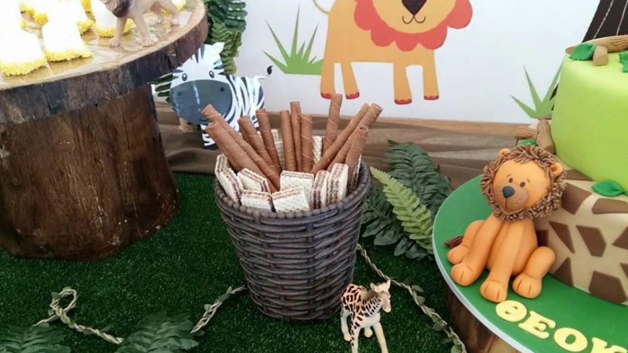 Jungle Safari Theme Party Christening Decoration Candy ...