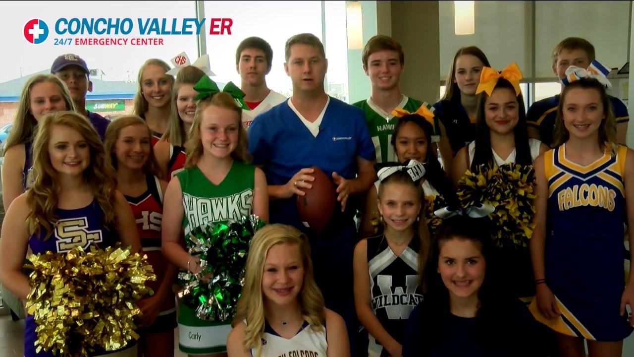 Concho Valley ER 2017 Football Ad