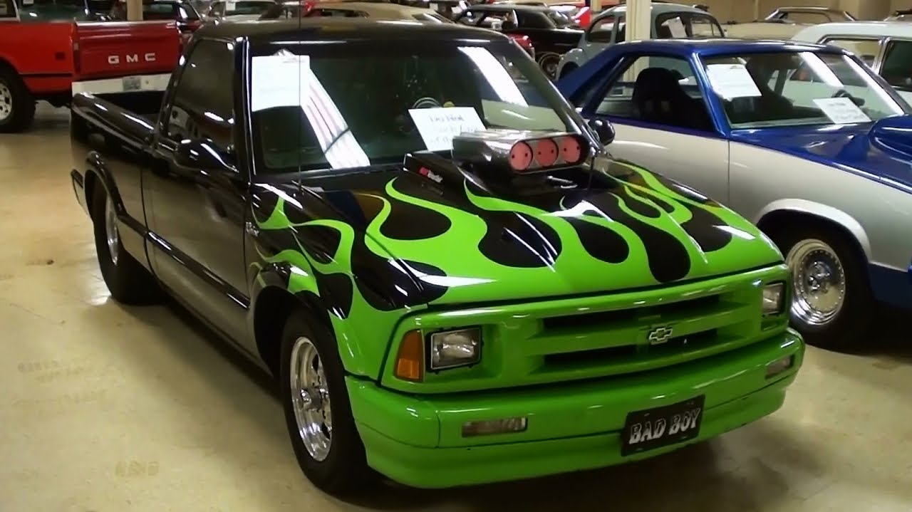 1994 Chevrolet S10 Pro Street Pickup Truck 377 V8