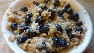 Blueberry Banana Nut Oatmeal