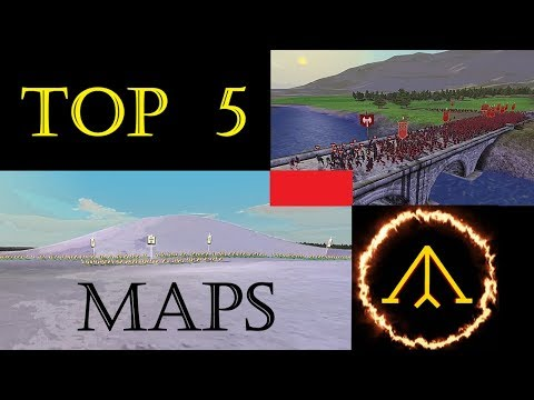 Top 5 Battle Maps (Rome Total War)