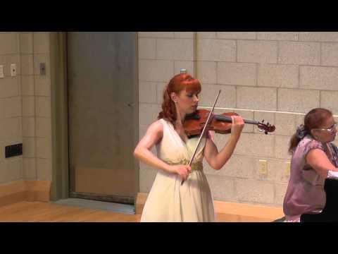 Maria Lazareva plays La Folia by Corelli-Kreisler