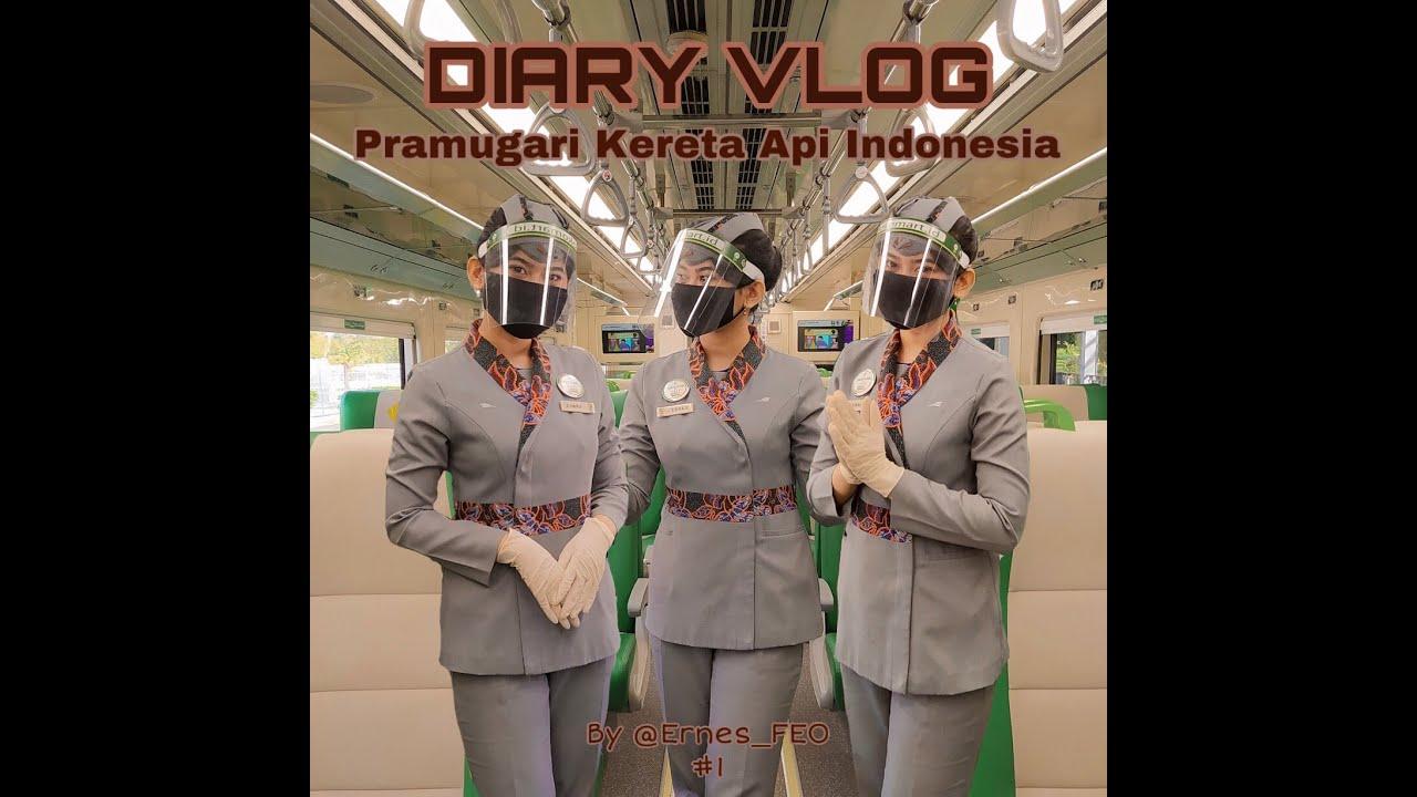 Download Diary Vlog    Pramugari Kereta Api #1 By @Ernes_FEO