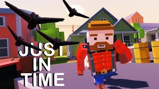Destroying Evil Crows and Saving the Hunter! - Just In Time Incorporated VR - HTC Vive Gameplay