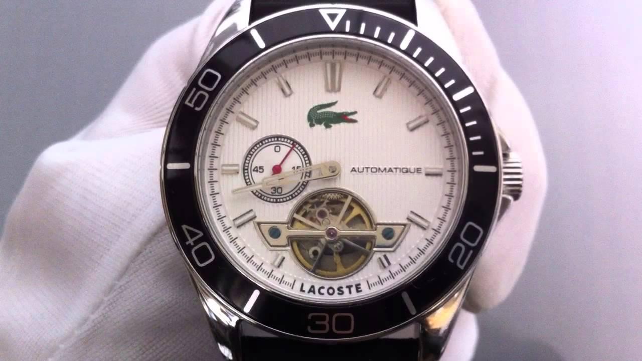 men s lacoste sport navigator automatic watch 2010480 men s lacoste sport navigator automatic watch 2010480