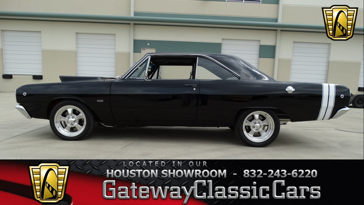 1968 Dodge Dart 426 CID V8- Gateway Classic Cars of Houston - #343 ...