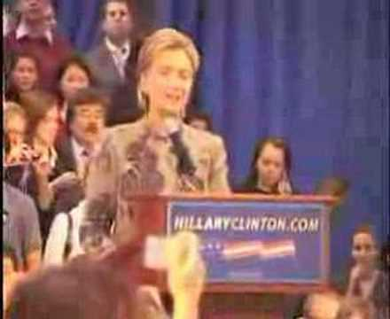 Clinton: Full New Hampshire Primary '08 Victory Speech,Part1