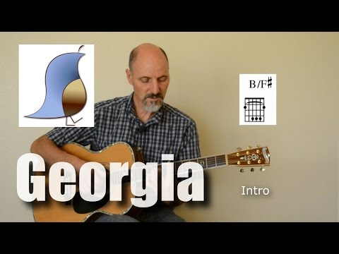 Georgia On My Mind - Guitar lesson