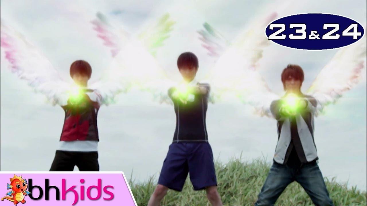 Siêu Nhân Thiên Sứ Tập 23+24 | Phim Siêu Nhân Hay Nhất