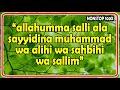 allahumma salli ala sayyidina muhammad wa alihi wa sahbihi wa sallim