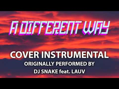 A Different Way (Cover Instrumental) [In the Style of DJ Snake feat. Lauv]
