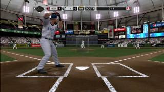 Major League Baseball MLB 2K10 - Xbox 360 - HD - J.D. Drew GRAND SLAM ! !