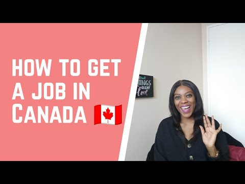 How To Find A Job In Canada As A Permanent Resident