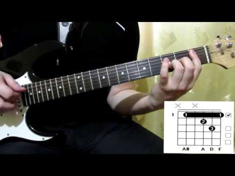 Scorpions Holiday cover how to play guitar lesson