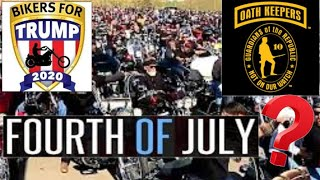 4TH OF JULY BIKERS FOR TRUMP / OATH KEEPERS / HELLS ANGELS /MONGOLS RIDING TO SEATTLE ?