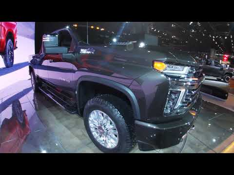 2020 Chevrolet Silverado HD High Country Walkaround at the Chicago Auto Show