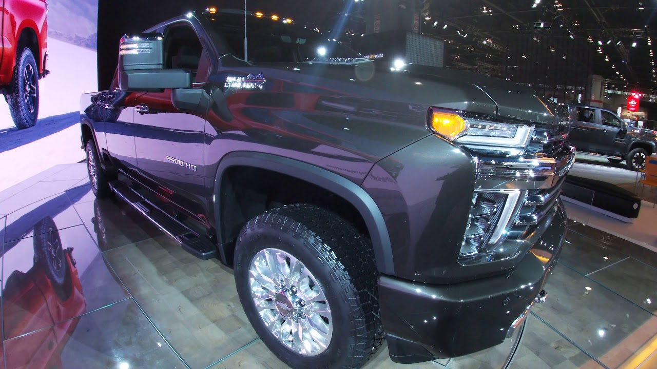 2020 Chevrolet Silverado Hd High Country Walkaround At The Chicago