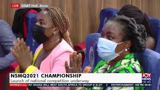 Live NSMQ2021 Championship Balloting for Preliminary Stage Contests Underway- JoyNews 19-10-21