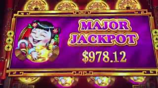 SUPER BIG WIN BONUS on 5 TREASURES Slot Machine MAX BET $8.80