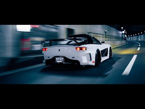 Osaka Night Run - Naoto's Veilside Mazda RX-7 | 4K