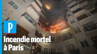 Un incendie à Paris fait un mort et deux blessés graves
