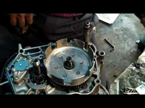 Hero Honda full engine fitting