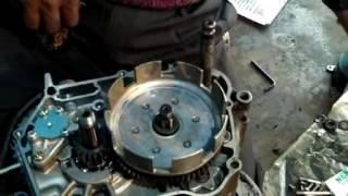 Hero Honda full engine fitting