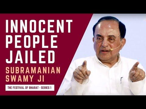 "S1: I Will Teach Chidambaram What Real ""Hindu Terror"" is | Dr. Subramanian Swamy ji"