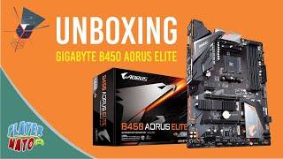 Unboxing Gigabyte B450 Aorus Elite
