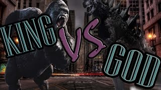 King Kong vs Godzilla \\ SUPER BATALLAS DE RAP \\ Luxar