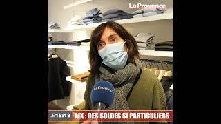 Coup d'envoi des soldes d'hiver : à Aix, les commerçants sont perplexes