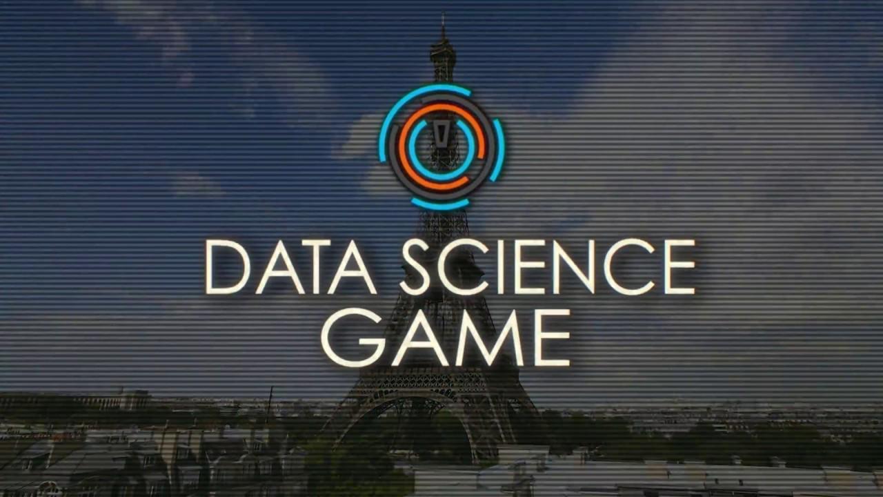 Data Science Game – Data Science Game season 2018