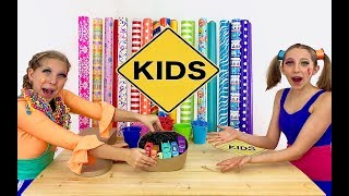 Clippi and Hippi Boxing Factory for Sign Post Kids! Pretend Play Toys!