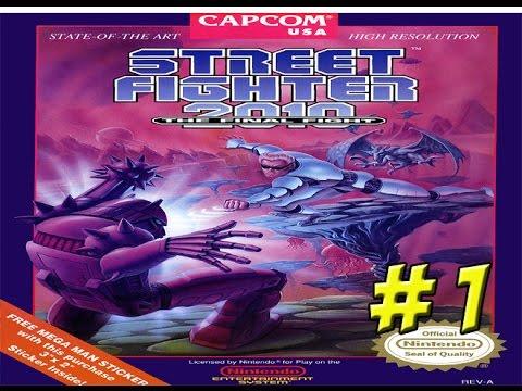 Street Fighter 2010: The Final Fight! Matt vs Game Part 1 - YoVideogames