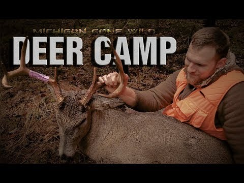Michigan Deer Camp 2017: Deer Hunting Public Land