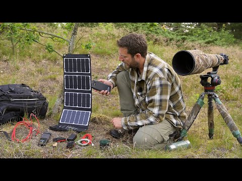 how-i-charge-my-batteries-when-wild-camping-|-solar-panels-to-charge-camera-batteries,-drone,-laptop