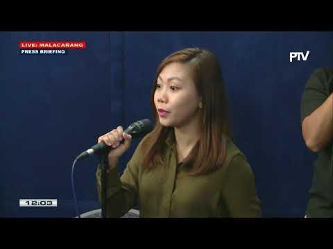 Press briefing sa Malacañang kasama si Presidential Spokesperson Harry Roque