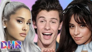 Ariana Grande FALLS OUT With BFF! Shawn & Camila Will Strip To UNDERWEAR If They Win A Grammy? (DHR)