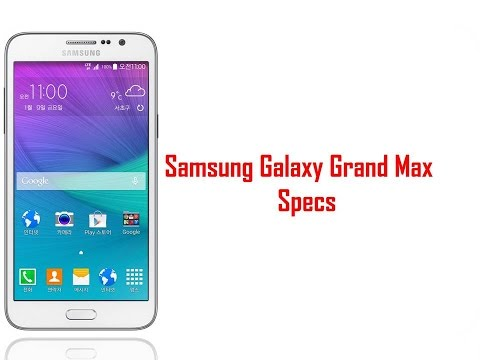 Samsung Galaxy Grand Max Specs & Features