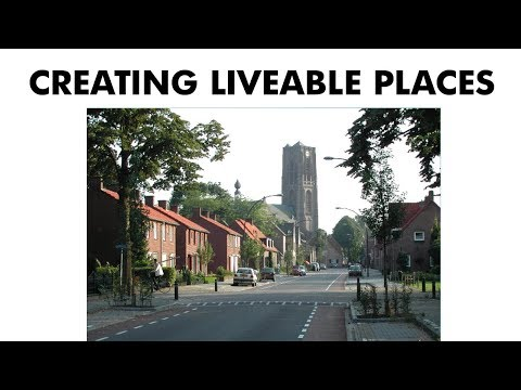 Creating Liveable Places