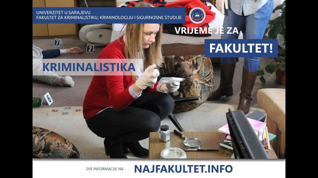 Download Studijski program - Kriminalistika