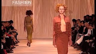 ROMEO GIGLI Spring Summer 2002 Milan - Fashion Channel