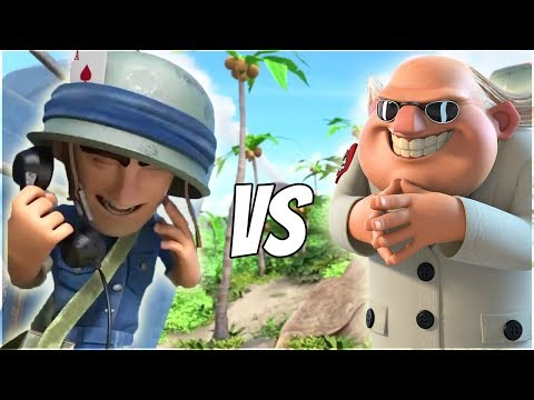 Boom Beach HUGE Riflemen Swarm Takes on Dr T!