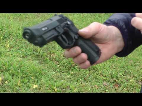 Пневм.пистолет Stalker S92PL - Обзор со стрельбой