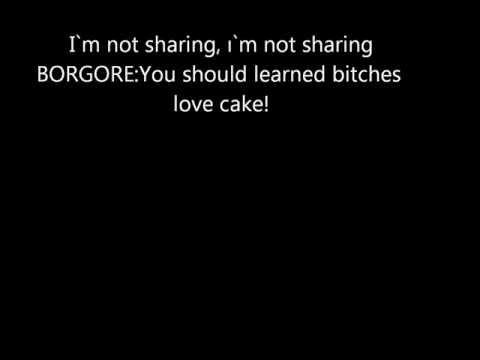Miley Cyrus ft. Borgore Decisions LYRICS VIDEO.