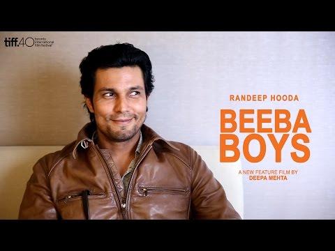 Randeep Hooda Beeba Boys Interview - TIFF 2015