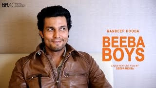 Randeep Hooda Beeba Boys Interview - TIFF 2015