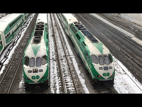 Railfanning Toronto Union Station 2/17/17 and 2/18/17